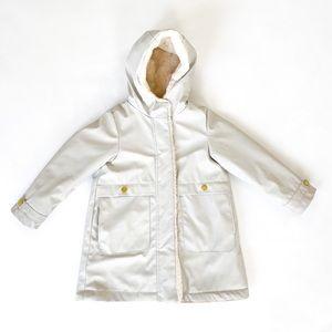 Sz 6 Zara Coated Winter Jacket
